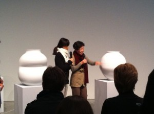 Yeesookyung's Translated Vase - the Moon, 2012, MCA