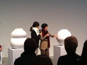 Yeesookyung's Translated Vase - the Moon, 2012, MCA