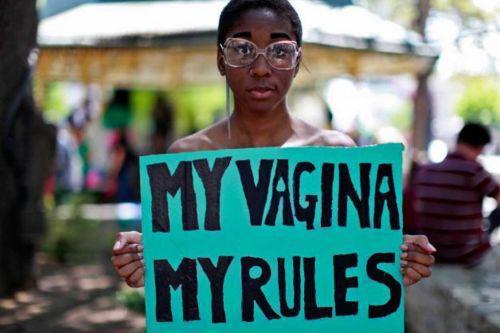My vagina my rules