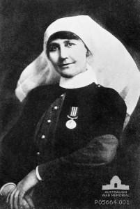 sister racheal pratt circa 1918