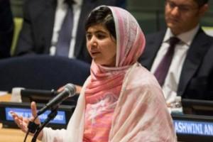 Malala Yousafzai. Image: AFP/Getty: Andrew Burton