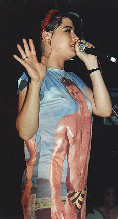 Riot Grrrl Kathleen Hanna in 1996