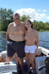 """""""Another example of the extreme inequality of chests. His breasts can be shown off all the time, but mine have to be covered. Its discrimination, pure and simple."""""""