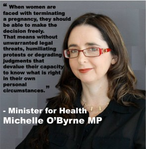 Image Via 'Support The Decriminalisation of Abortion in Tasmania' Facebook Page.