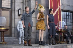 Image: film still from The Hunger Games