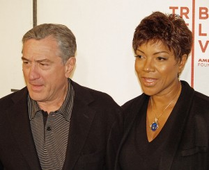 Robert De Niro and Grace Hightower. Image: Wikimedia Commons.