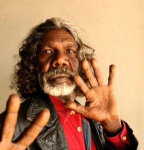 David Gulpilil. Photo: Jacky Ghossein