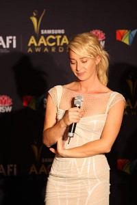 Asher Keddie at the AACTA Awards