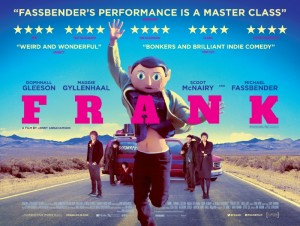 Theatrical release poster for Frank.