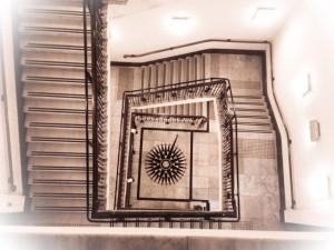 pendulum stairwell