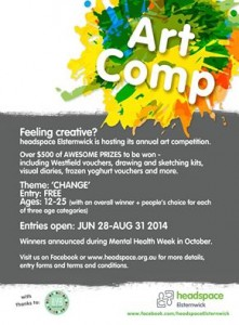 headspace art competition poster
