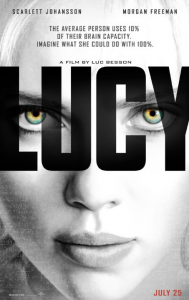 Lucy Promotional Poster 2014 imdb