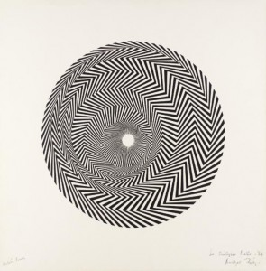 Bridget Riley, Blaze, 1964. Photo: Tate Museum