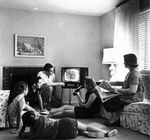 TV family public domain