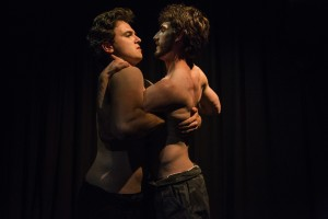 Scandalous Boy actors James Hughes and Ethan Gibson Image: Lorna Sim