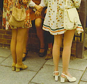 Mini-skirts_at_wedding_-_c1972