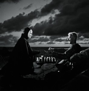 A scene from Bergman's classic film, The Seventh Seal.