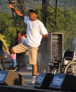 Tyler, the Creator performing (via Wikimedia)