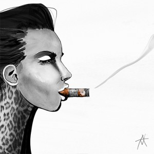 'Cigar' Image courtesy of Antony Makhlouf